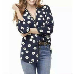 Cabi 5705 Go To Button Floral Top Womens Size XS